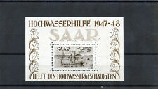 SAAR  Sc CB1a(YT BL2)**VF NH 1948 SOUVENIR SHEET $1500