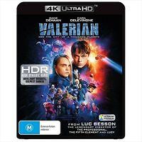 Valerian And The City Of A Thousand Planets : NEW 4K UHD Blu-Ray