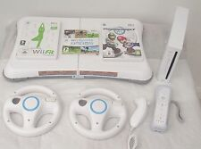 Wii CONSOLE+Wii FIT-YOGA +MARIOKART+WII SPORTS+ FREE  YEARS WARRANTY