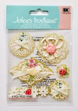 Jolee's Lacey Layered Rose Doilies Dimensional Scrapbook Sticker Embellishments