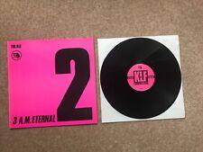 """The KLF – 3 A.M. Eternal (UK Remixes) - 12"""" vinyl"""