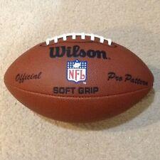 Wilson Official Pro Pattern Soft Grip Nfl Replica Football