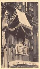 WINDSOR HOTEL MONTREAL CANADA BRITISH ROYALTY POSTCARD 1939