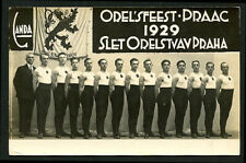 Czech 1929 Slet Praha GYMNASTS Congress Sport GAMES Prague ~ VASTA Archives