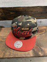 MENS Miami Heat Mitchell & Ness NBA Snapback,Hat,Cap
