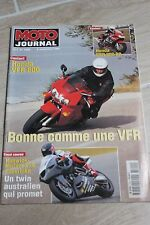MOTO JOURNAL N°1300 YAMAHA XJ 600 DIVERSION, GRAND PRIX ULSTER, JOËL SMETS 1997