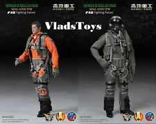 """High Toys 1/6 SCALE 12"""" Republic of China F-16 Fighting Falcon Pilot HT1201 USA"""