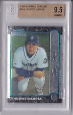 1999 Bowman Chrome Freddy Garcia #404 Rookie Graded BGS 9.5