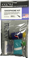 Axiom Saxophone Maintenance Kit - Sax Cleaning Kit Made in USA