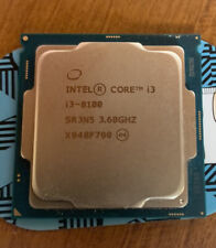 INTEL CORE I3-8100 PROCESSOR - QUAD CORE 3.6GHz - LGA1151 - SR3N5 - FAST SHIP!