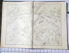 Paris VII ème - Selves Préfet Très Rare Plan de 1905 au 1/5000 (66,5 x 93 cm)