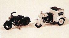 Jl Innovative 903 Ho 1947 Motorcycles 1 w/Tri-Cycle Servi-Car Metal Kit