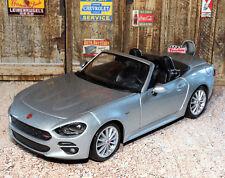 Fiat 124 Spider 1:24 Scale Die-cast Metal Model Toy Car Bburago 3+