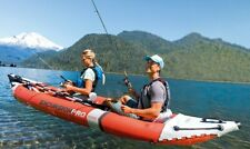 Intex Excursion Pro Kayak, 2 person Inflatable Fishing Kayak New