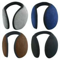 Thickened Plush Men's Earmuff Eco-Friendly Solid Pattern Cashmere Ear Protection