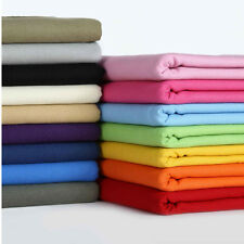 12OZ Plain 100% Cotton Duck Canvas Fabric Upholstery Heavy Duty Outdoor Material