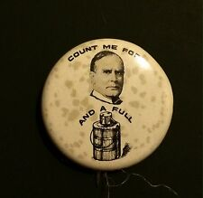 Six 1972 Amoco Campaign Political President Election Pins Buttons