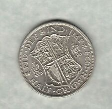 1929 GEORGE V HALF CROWN IN NEAR MINT CONDITION
