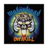 MOTORHEAD Overkill Woven Sew On Patch Official Licensed Band Merch Lemmy