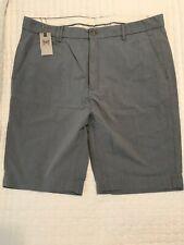 HICKEY FREEMAN Chino Shorts Size 36 Blue 100% Cotton