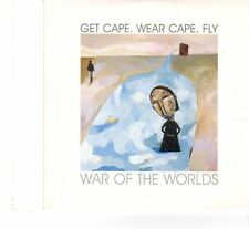(FR989) Get Cape Wear Cape Fly, War Of The Worlds - 2006 DJ CD