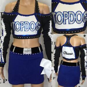 Cheerleading Uniform Allstar Varsity Brand Adult 2X