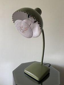 Avocado Green Mid Century Modern Retro Gooseneck DeSk LAMP