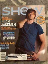 Show People Magazine Hugh Jackman Idina Menzel Wicked Kristin Chenoweth 2003