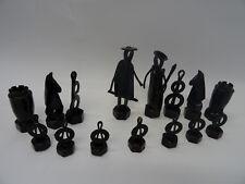Design industriale gioco degli scacchi unico pezzi degli scacchi one of a kind Chess piece IRON