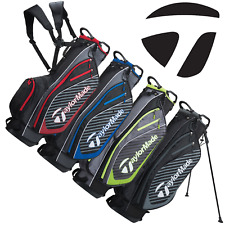 TAYLORMADE PRO SERIES 6.0 DUAL CARRY STRAP GOLF STAND CARRY BAG / NEW 2019 MODEL