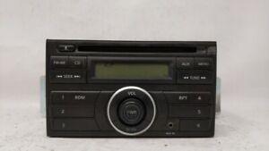 2010-2012 Nissan Versa Am Fm Cd Player Radio Receiver 80657