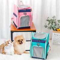 Pet Portable Carrier Backpack Dog Cat Travel Bag Shoulder Mesh Breathable Tote
