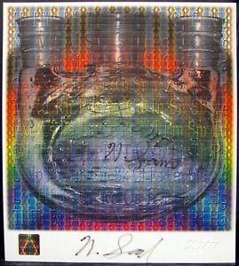 Blotter Art Nicholas Nick Sand signed Spectrum Rafti