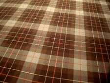 "LEE JOFA WALNUT ""CECIL WOOL PLAID"" ENGLISH WOOL TARTAN PLAID FABRIC!!"