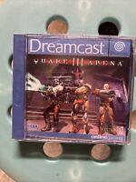 Quake 3 Arena - Quake III - Jeu SEGA Dreamcast PAL NEUF sous blister