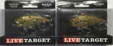 """Live Target yearling baitball 2 1/2"""" 5/8oz rattle trap pearl olive shad"""