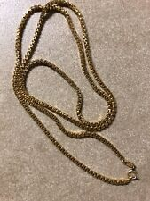 """Vintage 1974 Grosse Germany Chain Necklace 30"""" Long Signed"""