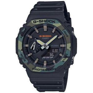 Watch Casio G-Shock GA-2100SU-1AER Camouflage Stopwatch Alarm LED Military
