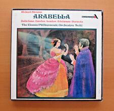 GOS 571-3 Richard Strauss Arabella Della Casa Gueden Solti 3xLP Decca Box NM/EX