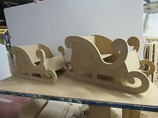 Christmas Sleigh Wooden. Large for sitting in. Extra strong and quality Product.