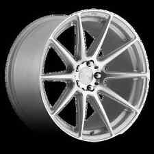 Niche Essen M146 18X8 5X114.3 +40 Silver Rims Fits Mustang Gt Rsx Tsx S2000 Sti