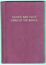 HardBound: J W SCOTT'S Standard COIN CAT. No 1 Gold+Silver, c1938 Reprint PPD-US