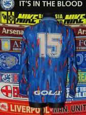 4.5/5 Stockport County adults L #15 1991 original football shirt jersey trikot