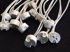 "7000pcs MR16,GU5.3,G4, MR11 Bi-Pin Socket Base Ceramic,Wire L5.9""  US Base NR"