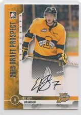 2013 ITG DRAFT PROSPECTS AUTOGRAPH AUTO ERIC ROY WHEAT KINGS *52276