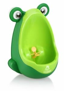 Lil' Jumbl Toddler Urinal Wheel Spin Child Choice Potty Trainer Green