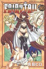FAIRY TAIL  Vol.60 - Hiro Mashima /Japanese Manga Book  Comic  Japan  New issue