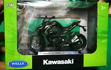 Welly 2017 Kawasaki Z1000 R Edition Gray Die-cast 1:18