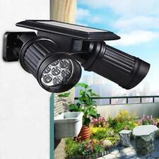Luz Solar 14 LED Proyector PIR Sensor de Movimiento para Exterior Garaje Jardín