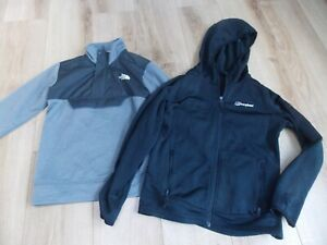 BOYS BERGHAUS THE NORTH FACE TRACKSUIT TOPS AGE 10-12 YEARS